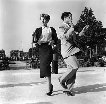 Emmy Andriesse: Dansend paar, ca. 1951