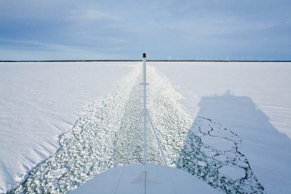 Anja de Jong: Ice Edge, 2009