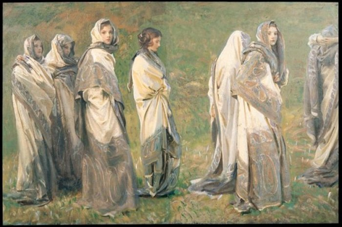 John Singer Sargent: Cashmere, 1908 (Bill Gates Collection)