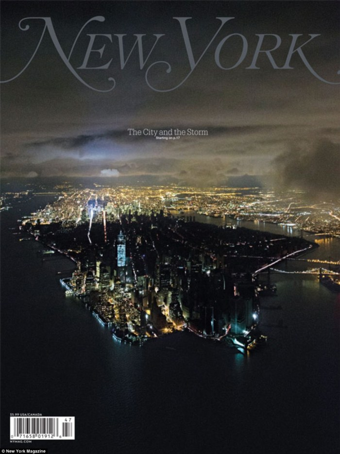 New York Magazine, november 2012
