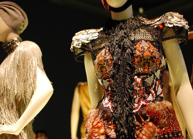 detail uit de tentoonstelling