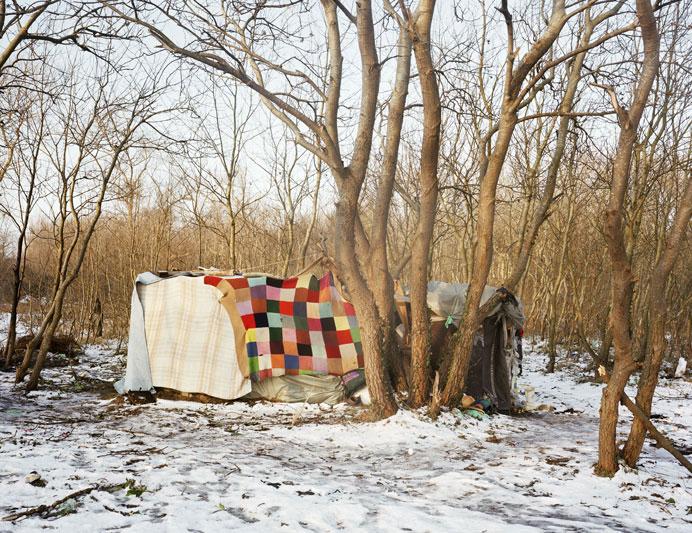 Shelter: Calais, Frankrijk, februari 2009