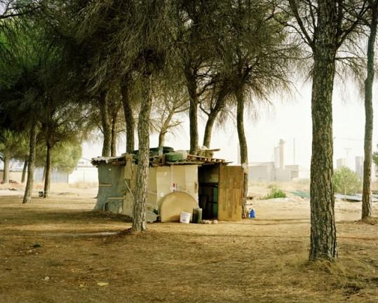 Shelter: San Clemente, Spanje, september 2007