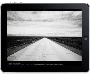 Via PanAm van Kadir van Lohuizen op de iPad