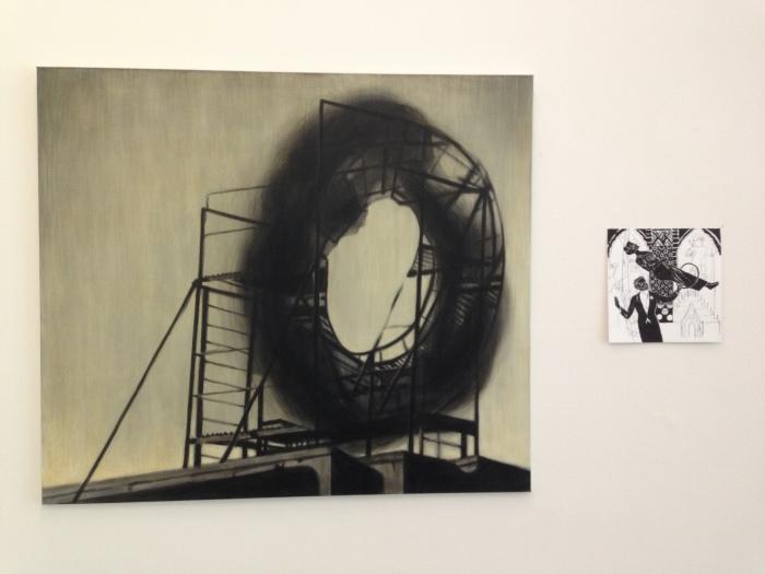 Andrei Roiter: Big O, 2007 en Natasja Kensmil: uit de serie The Illusionist, 2008. Beide collectie SCHUNCK*