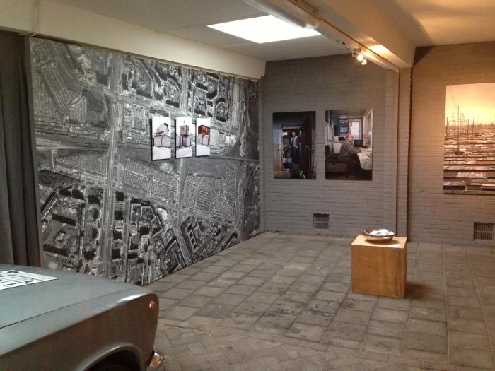 Installatie GarageDoc van Marcel Brons