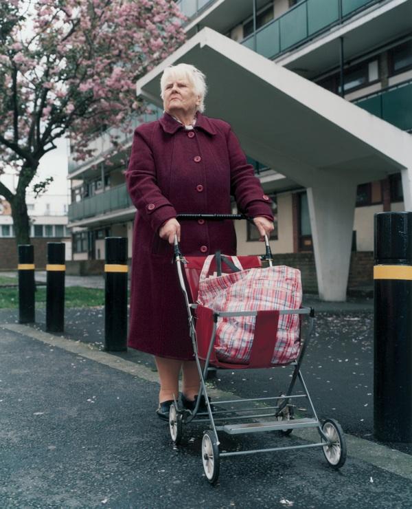 Trolley Portraits, 2001 © Stephen Gill