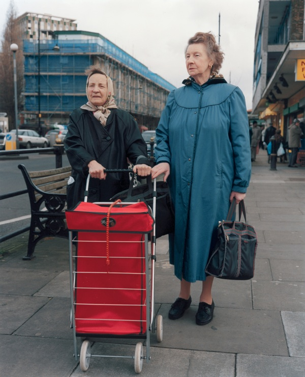 Trolley Portraits, 2001 © Stephen Gill