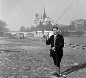 Robert Doisneau: Pecheur à la Mouche Seche, 1946