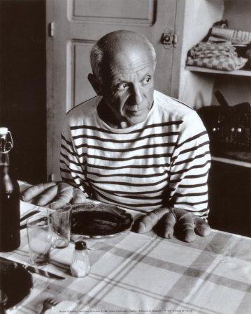 Robert Doisneau: Les pains de Picasso, 1952