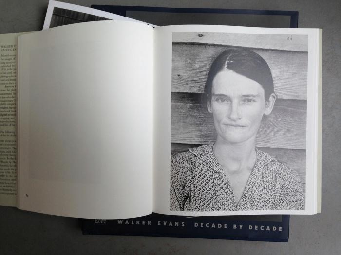 © Walker Evans: Alabama Cotton Tenant Farmer Wife, 1936