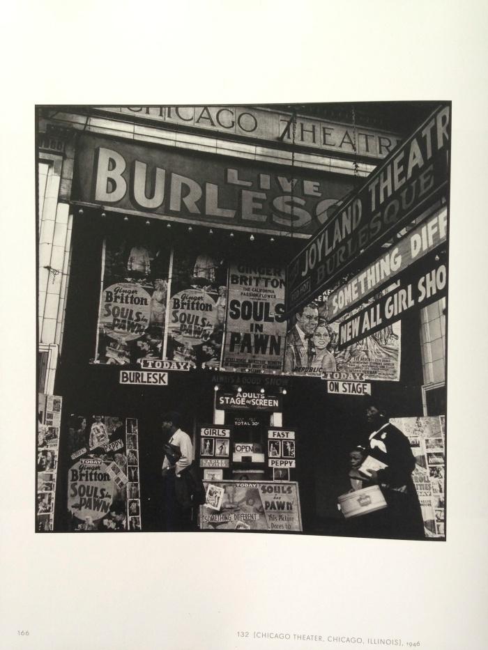 Walker Evans: Chicago Theater, Chicago, Illinois, 1946