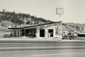 © Ed Ruscha, uit: Twenty Six Gasoline Stations, 1962