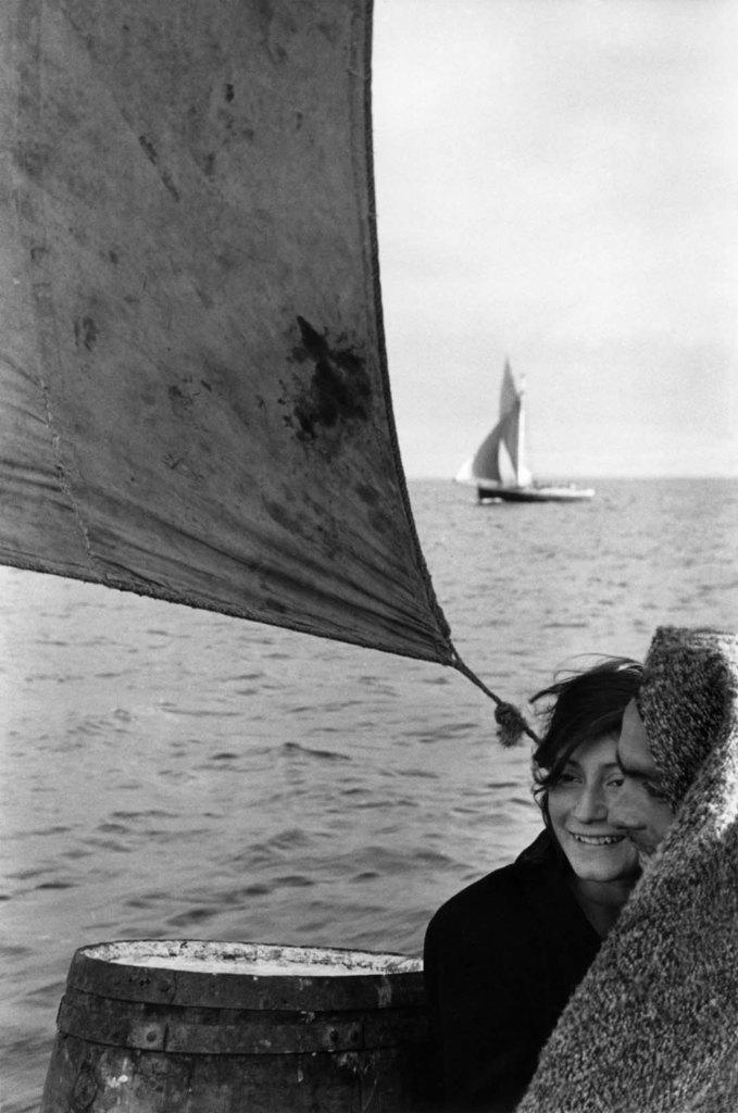©Sergio Larrain/Magnum Photos: Entre l'île de Chiloé et Puerto Montt, Chili, 1957