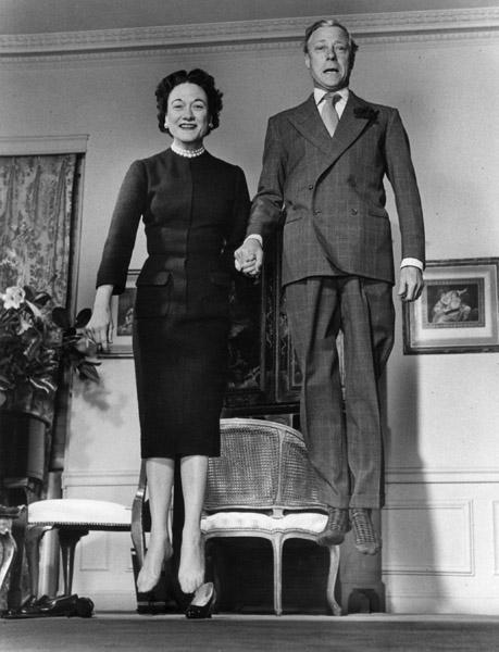 ©Philippe Halsman/Magnum Photos Duke & Dutchess of Windsor, 1956
