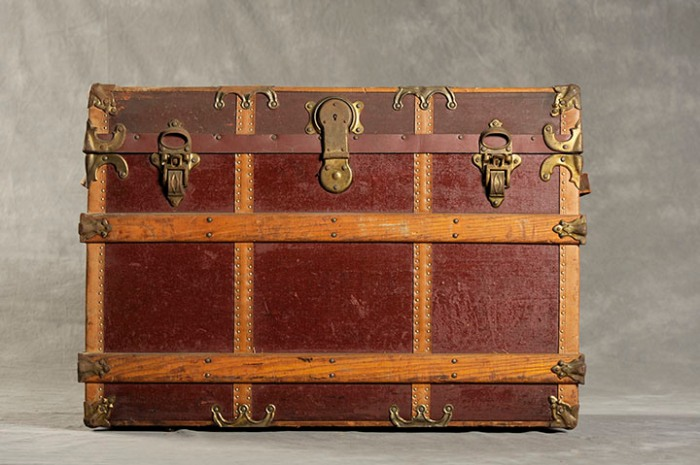 Willard Asylum Suitcases: Flora T. ©2012 Jon Crispin ALL RIGHTS RESERVED