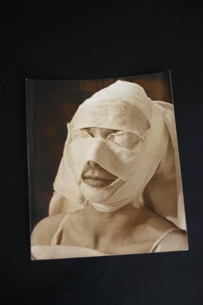 Emmy Andriesse, 1940 (Foto gefotografeerd door Stephan Keppel)