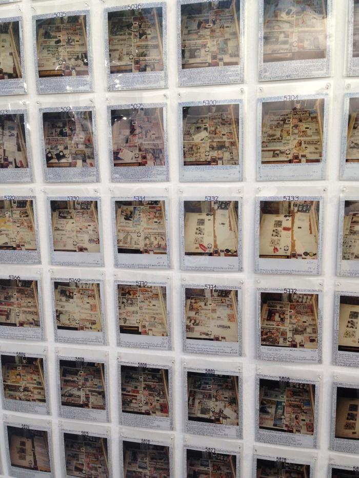 Horst Ademeit bij galerie Susanne Zander uit Keulen