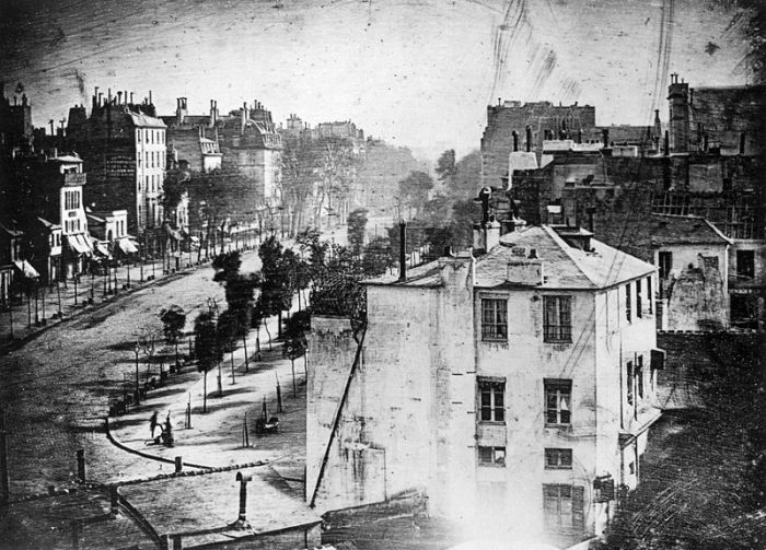 Louis Jacques-Mande Daguerre, Boulevard du Temple, 1838