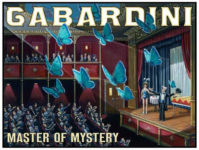 Gabardini Master of Mystery. Poster, ca.1920