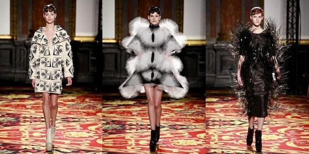 Iris van Herpen: Voltage S/S 2013 Haute Couture. Foto's courtesy Show Studio