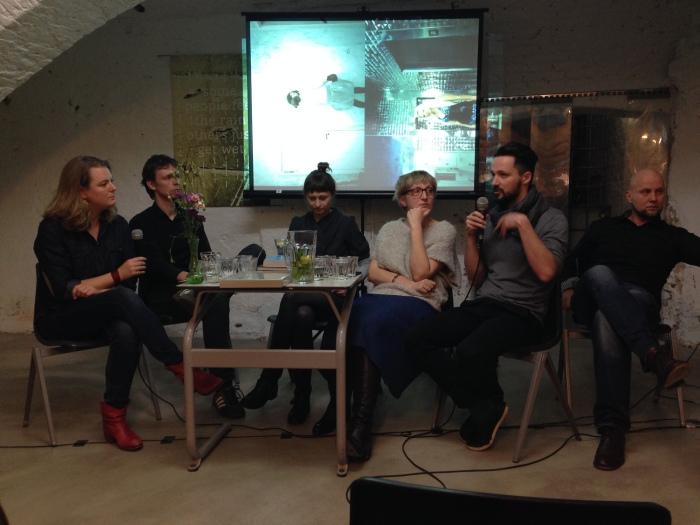 Openingsmiddag op de nieuwe locatie: leden van Sputnik Photos in debat onder leiding van journalist Eefje Blankevoort van Prospektor
