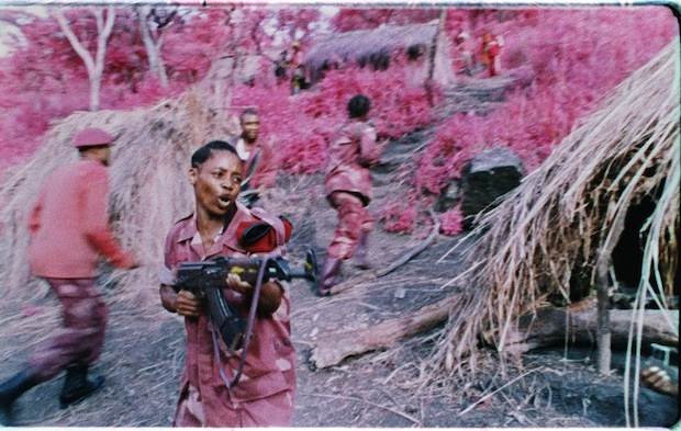 ©Richard Mosse, still uit The Enclave, 2013