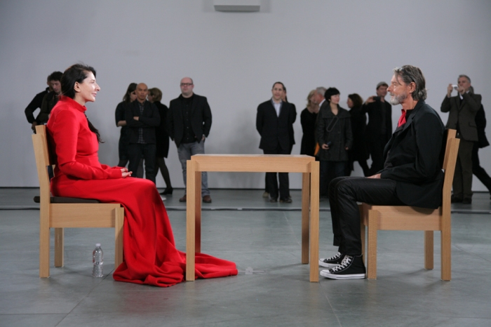 Marina Abramovic: The Artist is Present, MoMA New York, 2010 Foto © 2010 Scott Rudd