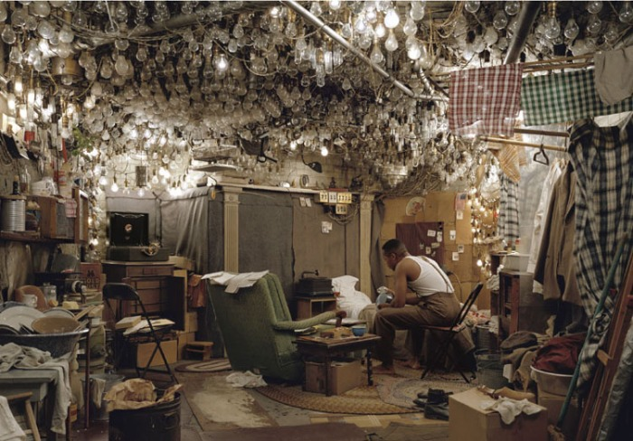 © Jeff Wall: After 'Invisible Man' by Ralph Ellison, The Prologue, 1999