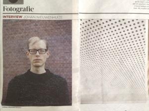 Portret Johan Nieuwenhuize: Robin de Puy