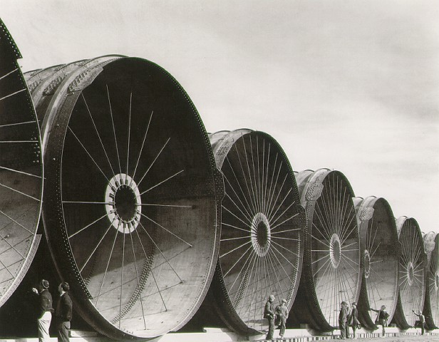 © Margaret Bourke-White: Diversion Tunnels, Fort Peck Dam, 1936