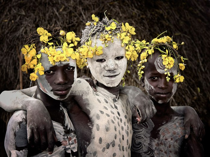 ©Jimmy Nelson, Before They Pass Away. Karo, Ethiopië.