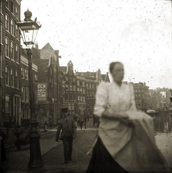 George Hendrik Breitner: Bloemstraat, rond 1893. Collectie Gemeentearchief Amsterdam