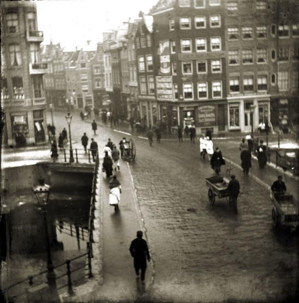 George Hendrik Breitner: Singelbrug Amsterdam, voor 1894 Collectie Gemeentearchief Amsterdam