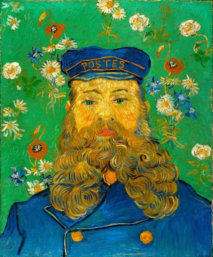 Vincent van Gogh: Portret van Joseph Roulin, 1889