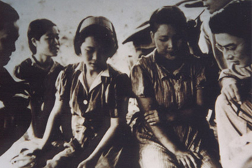 Imperial Japanese Army left most sex slaves, or comfort women, behind when the Pacific War was over. These women are the one interned in the US concentration camps.