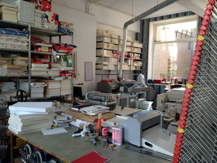 Werkplaats van Knust in Nijmegen
