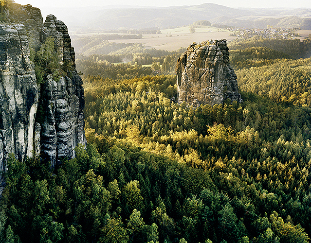 © Andrej Glusgold, uit de serie C.D.F. (2012), waarvoor hij zich liet inspireren door de landschappen van de schilder Caspar David Friedrich