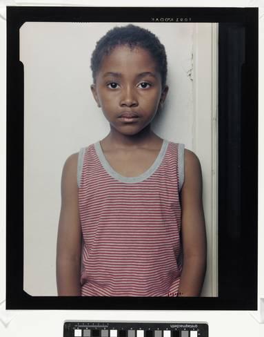 © Céline van Balen: Portret van Tiro Nchabeleng, 1999. Collectie Rijkmuseum