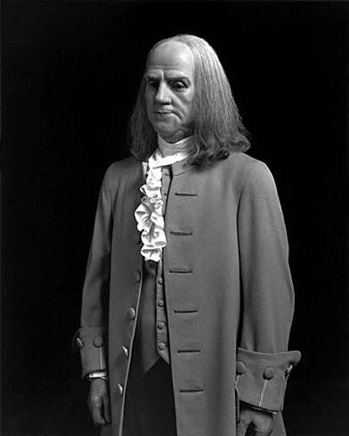 © Hiroshi Sugimoto: Benjamin Franklin, 1999