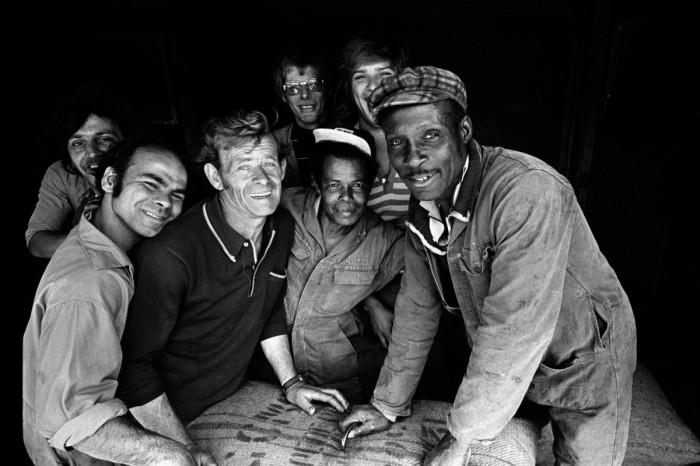 Dokwerkers Amsterdams Havenbedrijf (1975) © Cor Jaring (Stadsarchief)