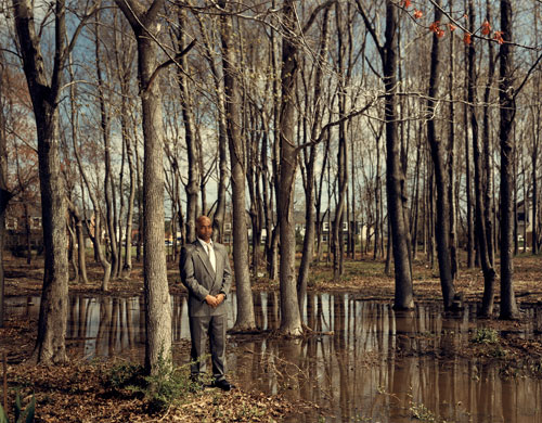 © Taryn Simon: TROY WEBB. Scene of the crime, The Pines, Virginia Beach, Virginia. Served 7 years of a 47-year sentence for Rape, Kidnapping and Robbery, 2002 © Taryn Simon. Courtesy Gagosian Gallery