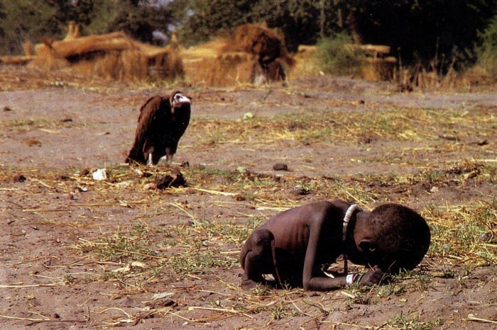 © Kevin Carter, Soedan, 1993